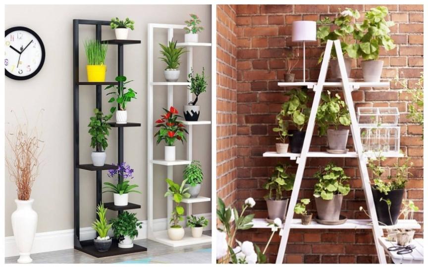 10+ idei de suporturi interesante și practice pentru plantele din casă