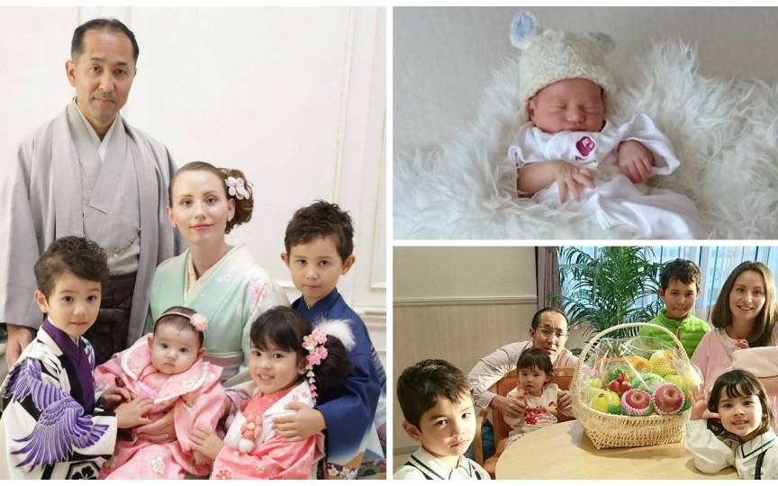 Moldoveanca Diana Okazaki: În Japonia mi s-a împlinit visul de a avea cinci copii