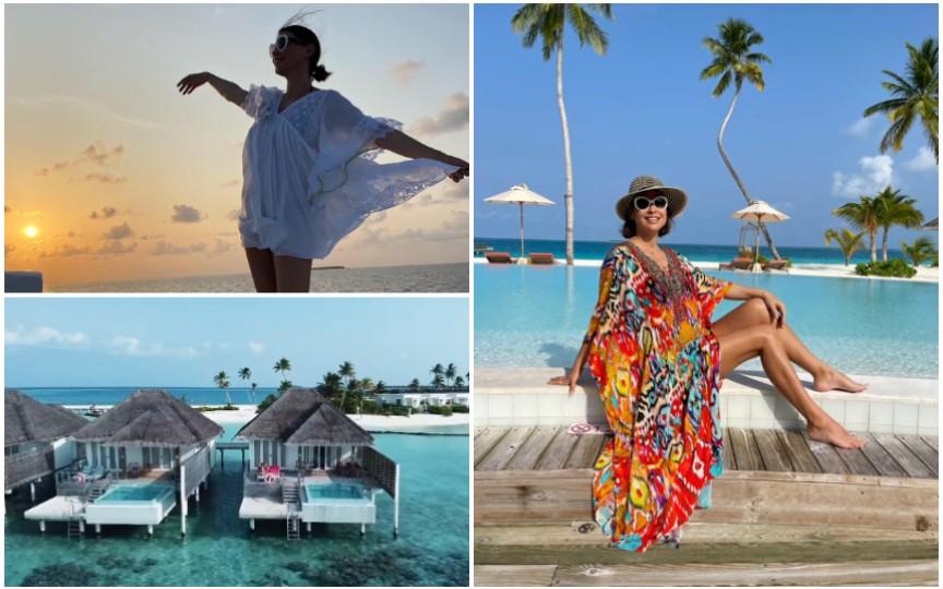 Natalia Barbu a dezvăluit sexul bebelușului și a publicat noi imagini din vacanța din Maldive