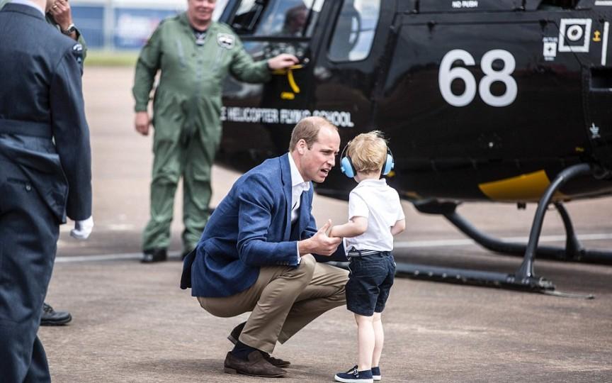 Prințul William folosește o tehnică educativă pe care ar trebui să o aplice toți părinții