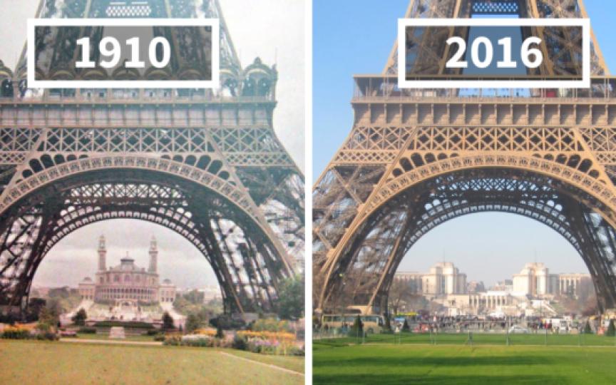 Ieri și azi în fotografii! Cât de mult se schimbă lumea în care trăim