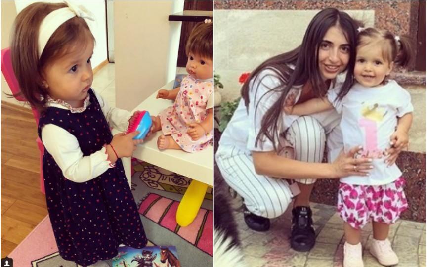 Prima zi la grădiniță pentru fiica Elenei Bivol. Cât de emoționată este mămica!