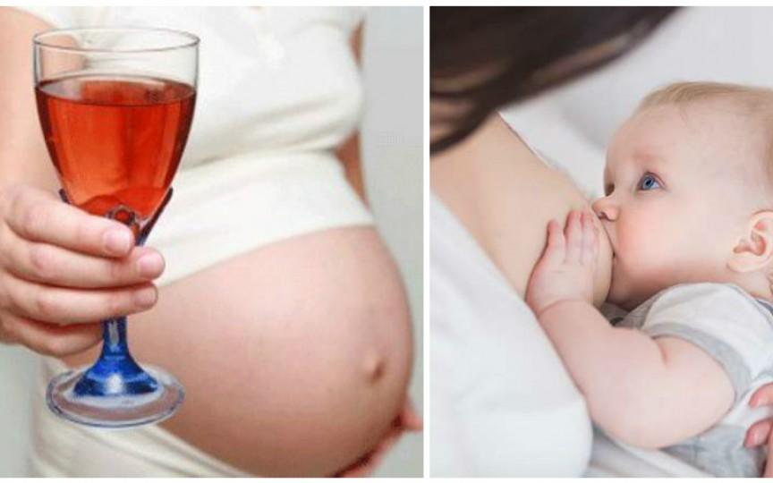 Cât VIN putem consuma în perioada sarcinii și alăptării!