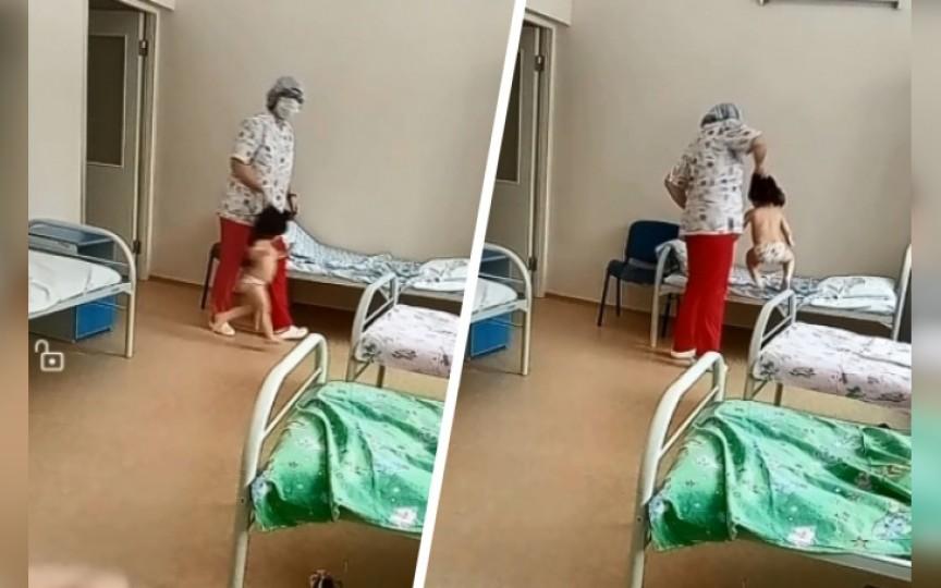 (VIDEO) Imagini şocante surprinse într-un spital pentru copii