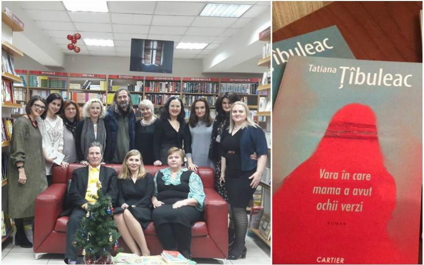 Tatiana Țîbuleac și-a lansat cartea! Îți taie răsuflarea…
