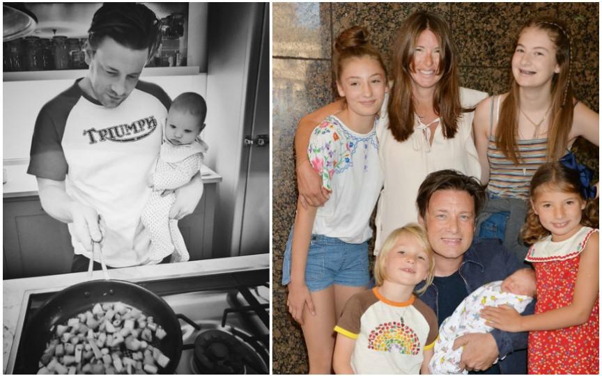 Viața de familie a celebrului bucătar Jamie Oliver
