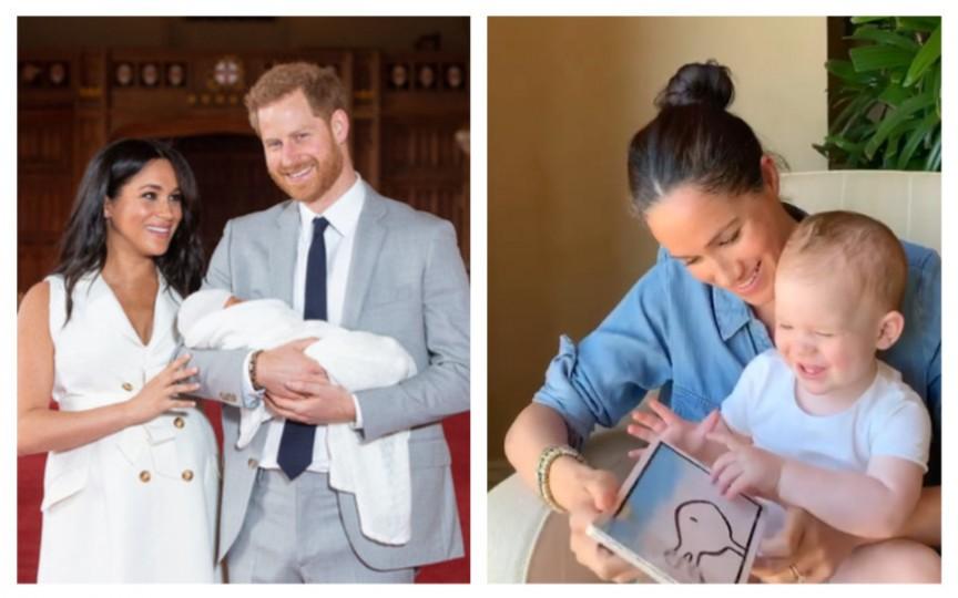 Ducii de Sussex l-au arătat pe micuțul Archie cu ocazia primei sale aniversări