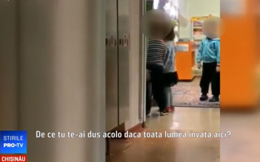 Revoltător! Copil lovit și trântit jos de o educatoare de la Grădinița 46 din capitală