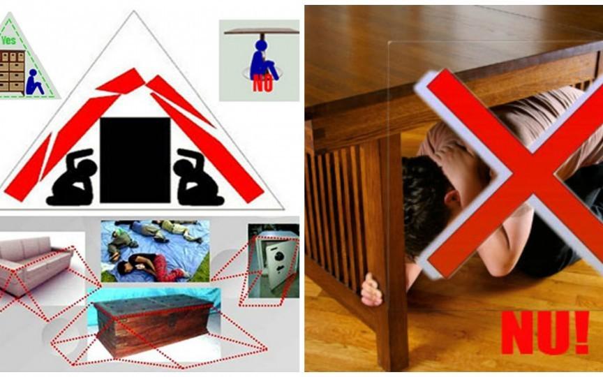 9 sfaturi: Ce să NU faci în caz de cutremur