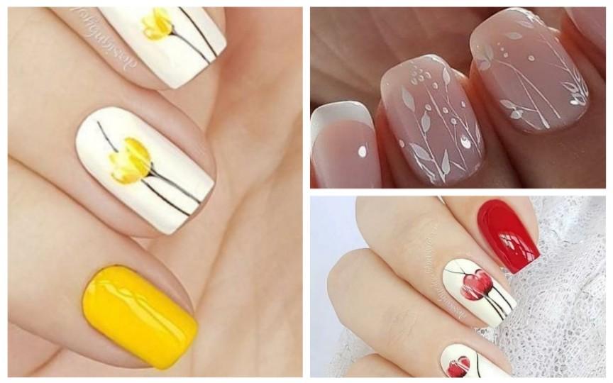 (FOTO) Idei de unghii perfecte pentru această primăvară