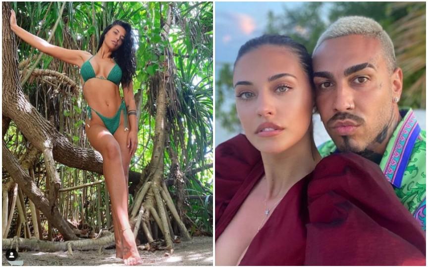 Antonia și Alex Velea, imagini din vacanța în Maldive