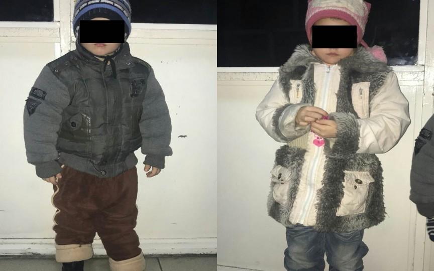 S-a găsit mama a doi copilași rătăciți prin oraș. Aceasta face abuz de alcool