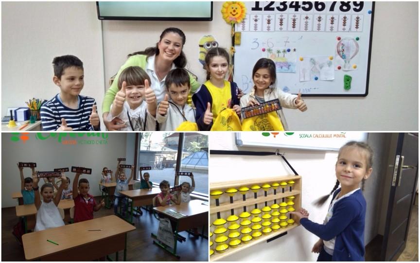 Școala care învață copiii să calculeze mai repede decât calculatorul există și la Chișinău. Află detalii!