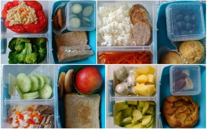 Meniurile sănătoase ale unei moldovence care îi dă copilului la grădiniță mâncare la pachet
