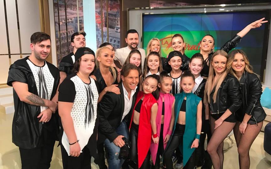 Trupa de balet Teo Dance Studio a făcut furori în România