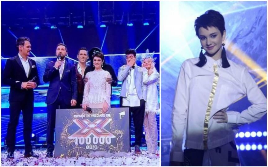 Moldoveanca Olga Verbițchi a câştigat concursul X Factor! Are numai 15 ani