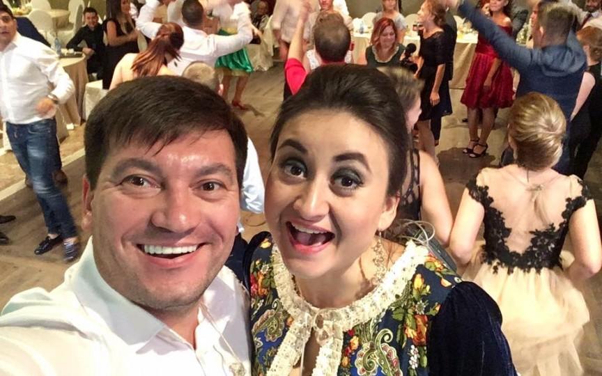 Costi Burlacu a fost surprins de cadoul fetițelor sale cu ocazia aniversării