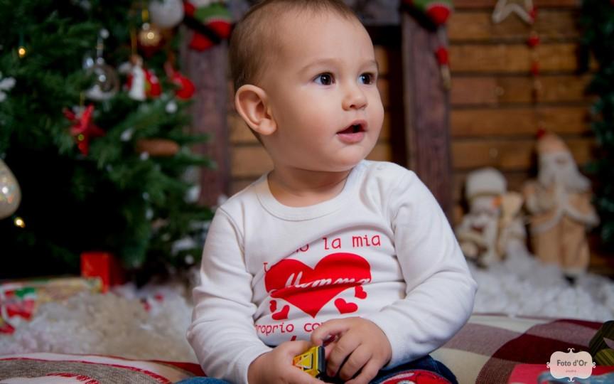 Cezărel Ciumac în așteptarea primului său Crăciun