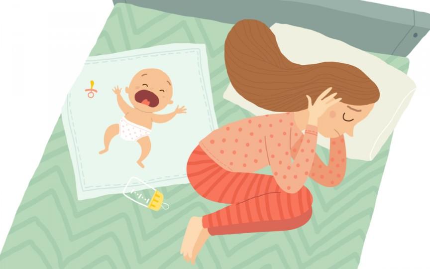 Ce legătură există între travaliul dureros și depresia postpartum