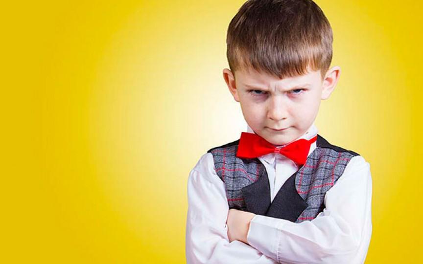 Caracteristicile unui copil nervos și încăpățânat