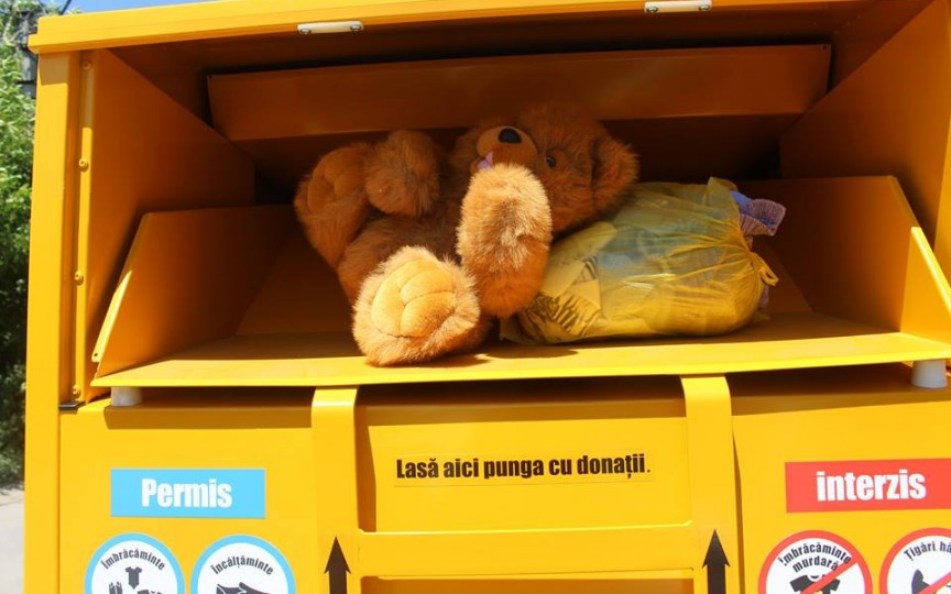 În primele 3 zile au fost colectate 790 kg de haine