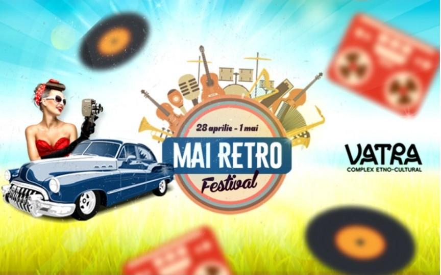 Primul festival din acest an organizat de Complexul Cultural VATRA va fi MAI Retro