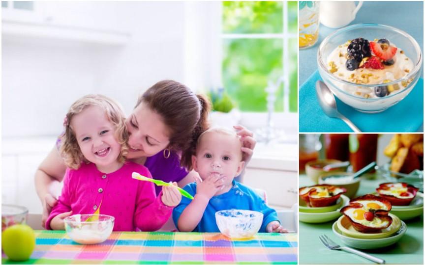 Secretele unui DEJUN SĂNĂTOS: cu ce hrănim copiii dimineața