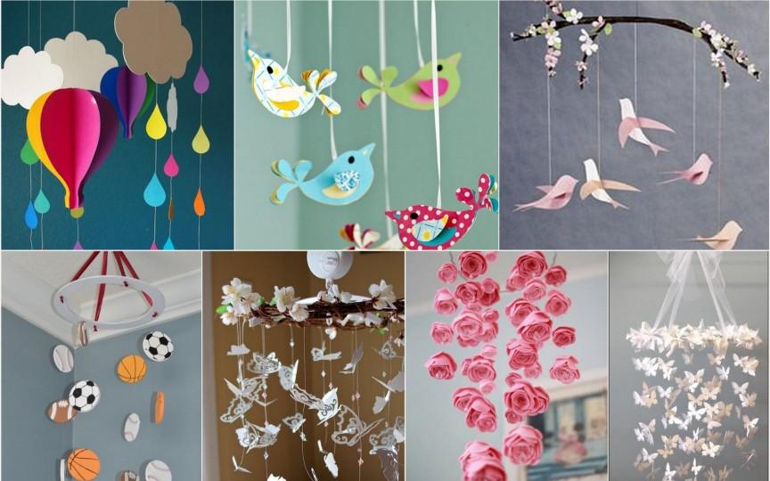 Carusel colorat: 7 idei simple şi frumoase pentru camera copilului tău!