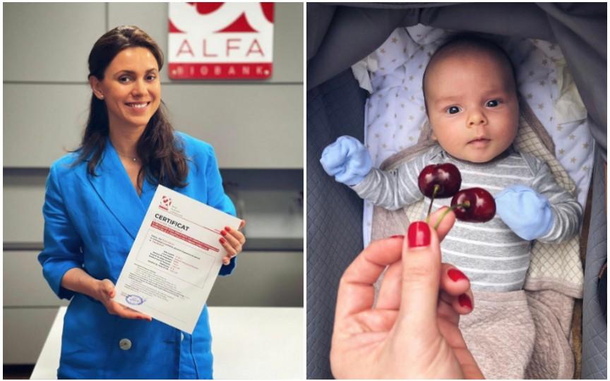 Natalia Morari ține pasul cu medicina modernă și a ales să stocheze celule stem la nașterea copilului său