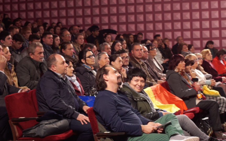 Mii de spectatori la Zilele Filmului Românesc la Chişinău