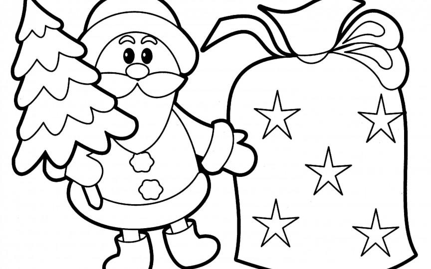 Desene De Colorat Cu Tematică De Crăciun