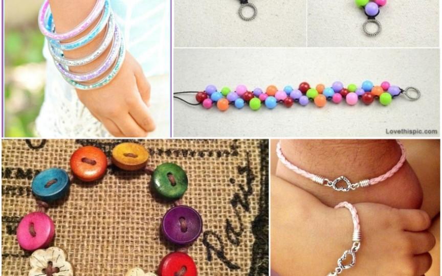 Brățări handmade, ușor de făcut pentru o vară stilată