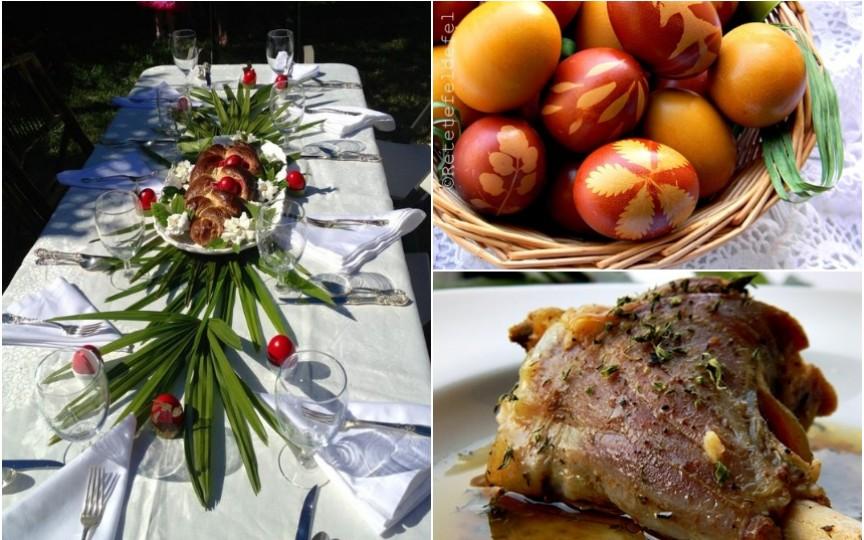 Idei de un meniu complet și interesant pentru masa de Paște