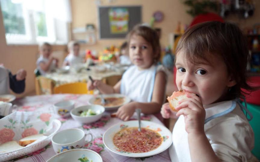 25 de milioane de lei suplimentar pentru îmbunătățirea alimentației copiilor la grădinițe