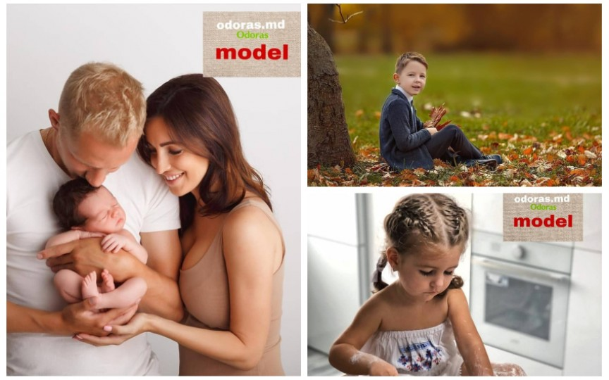 """Copiii care au câștigat prima ediție a concursului """"Fii modelul Odoraș"""""""