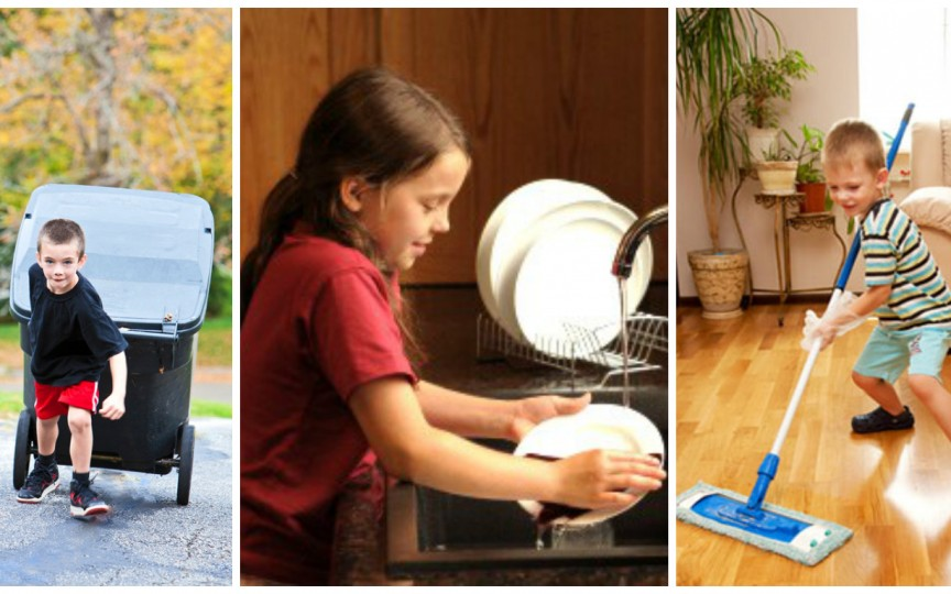 Iată ce activităţi casnice pot face copiii în funcţie de vârstă