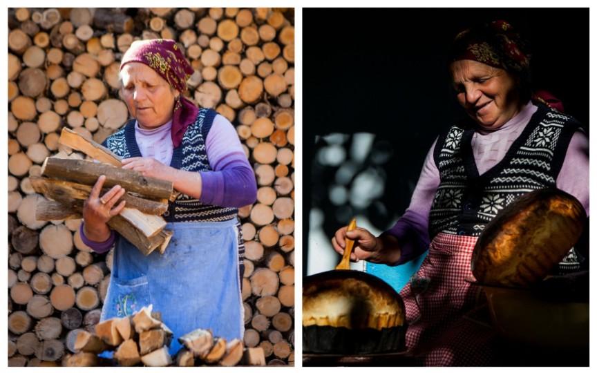 24 de fotografii care trezesc un milion de emoții: Viața unei bunicuțe la sat în Moldova