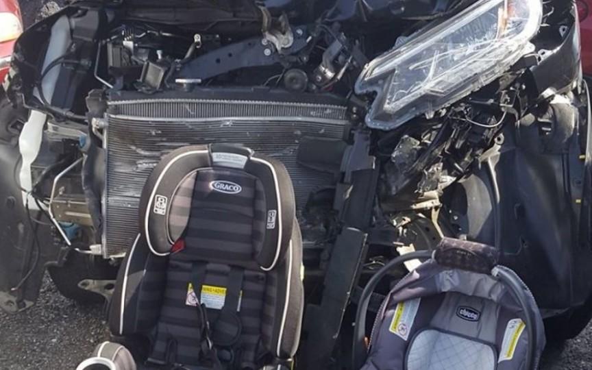 Mesajul unei mame după ce a trecut printr-un accident groaznic de mașină