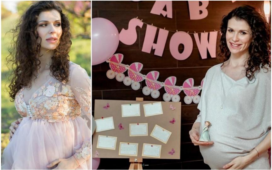 """Prezentatoarea TV Stela Mikșanski a născut chiar după petrecerea """"Baby Shower"""". Are o voinică de fată!"""