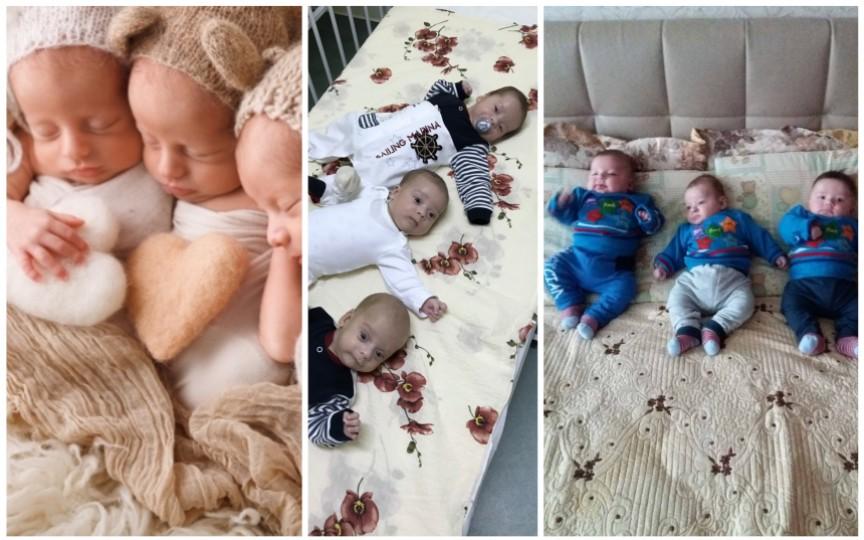 Campania de Crăciun! Caritate pentru familiile cu tripleți din Moldova!