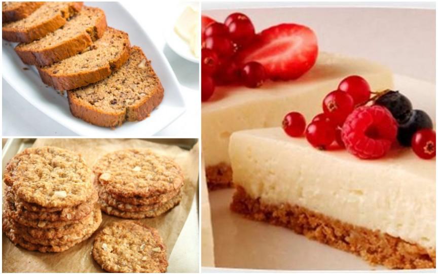 5 rețete de prăjituri sănătoase pentru copii