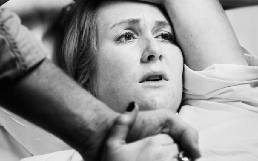 Proiect emoționant: portretele femeilor în timpul nașterii