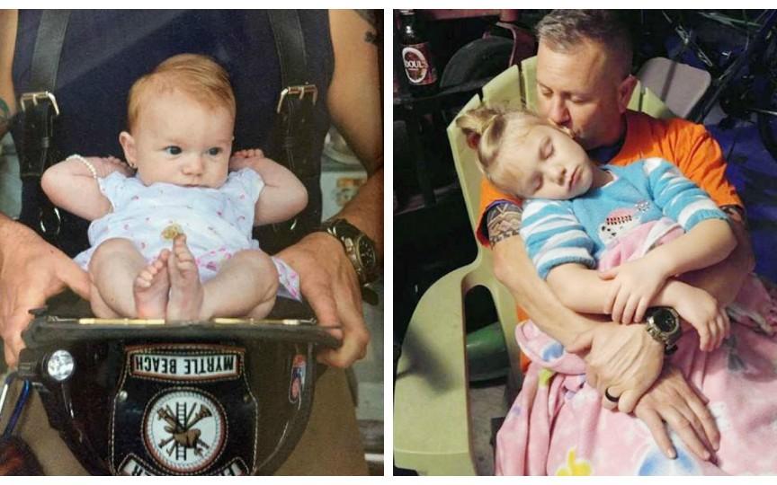 Un pompier a pornit la o chemare urgentă, dar s-a pomenit că a asistat nașterea fiicei