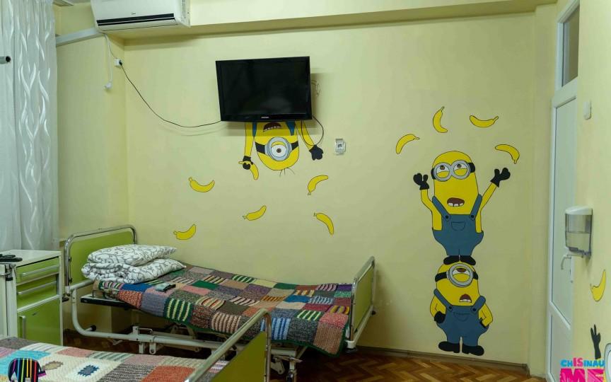 (FOTO) Proiectul minunat care a reușit să aducă zâmbete pe fețele copiilor de la Spitalul Oncologic