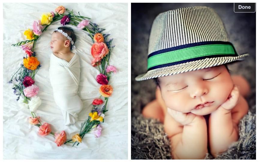 19 imagini superbe din sesiuni foto cu nou-născuți