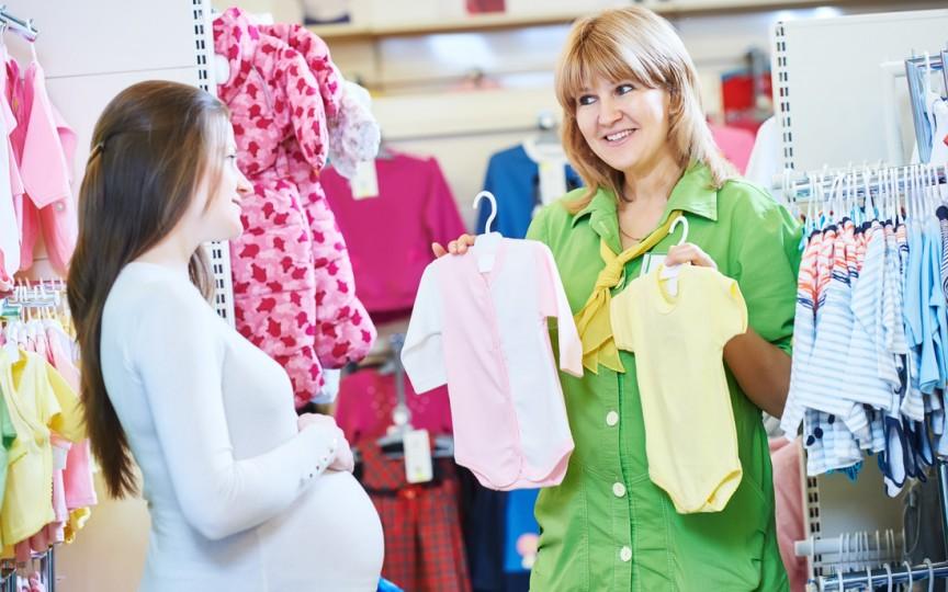 Când cumperi primele lucruri pentru bebe în sarcină?