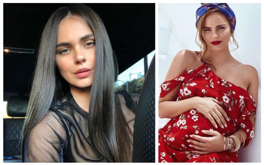 Modelul Xenia Deli apare într-o nouă fotografie cu fiica sa Anastasia