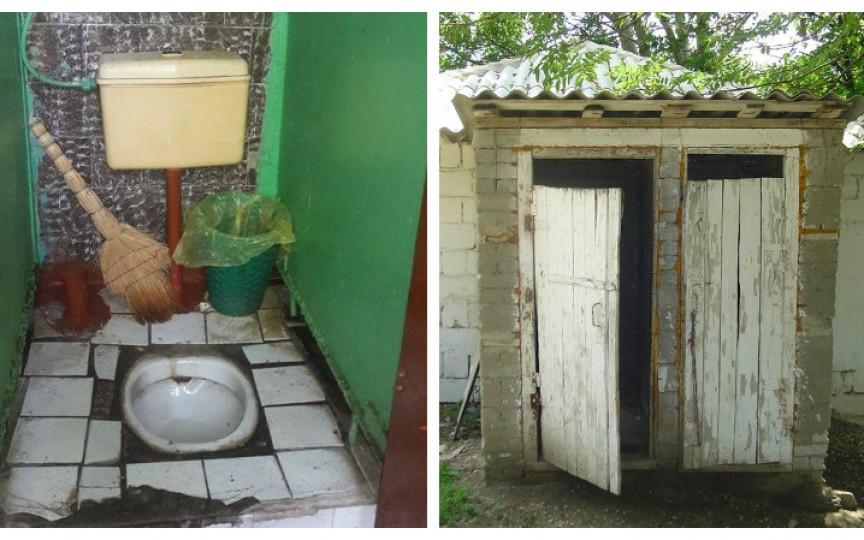 Miros insuportabil, fără hârtie igienică și fără separatoare - așa arată wc-urile din unele școli din RM
