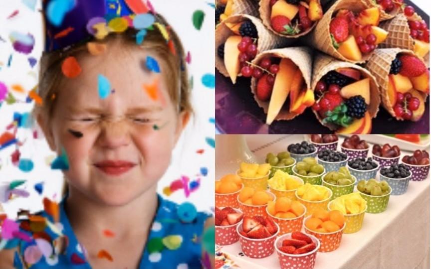 Ce fel de meniu să pregătiți pentru o petrecere organizată copiilor
