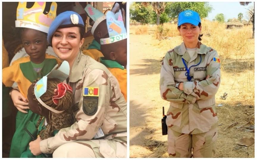 Cum şi-au petrecut sărbătorile de iarnă observatorii moldoveni din misiunile de pacificare în Africa